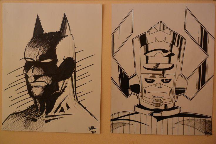 Batman and Galactus