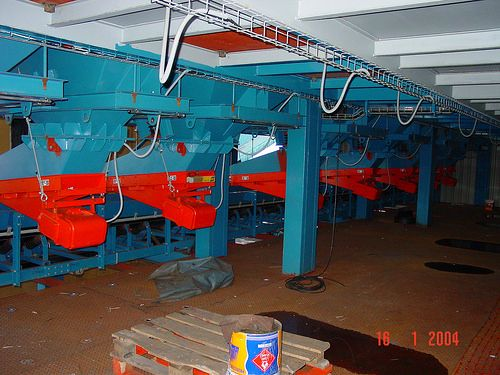 Edificio Dosificacion - Montaje 3 boilermaking, steel tanks, steel structures