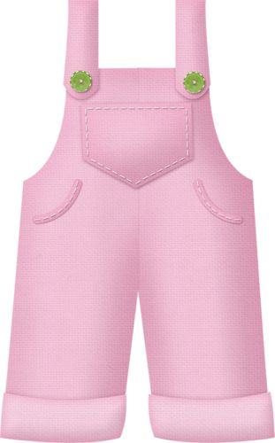 Pink overals