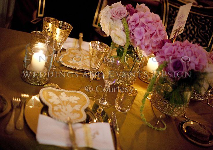 Summer Wedding in Rome #wedding #rome #weddingplanner #enzomiccio #flowerdesign #candle #decoration #miseenplace #bouquet
