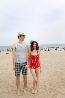 Beach Blanket Bingo One Piece in Red