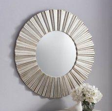 Cardew Silver Wall Mirror 91cm