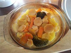Reteta legume la cuptor pentru bebelusi de la varsta de 8 luni din dovlecel, morcov, albitura si broccoli. Ceva bun pentru piticul tau!