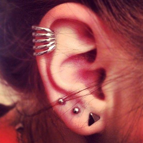 ear piercings cartilag...