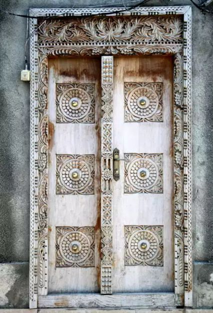 Found this door in Zanzibar. Photo: google+