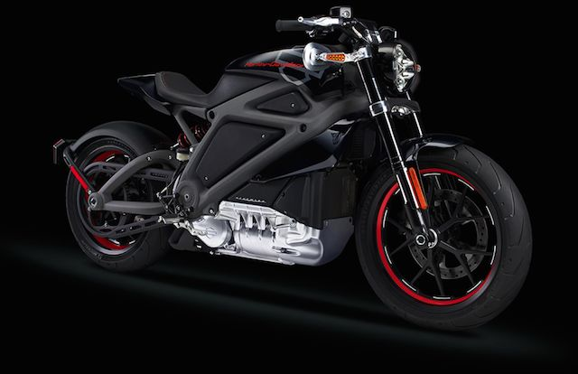 Harley-Davidson Electric Motorcycle 7