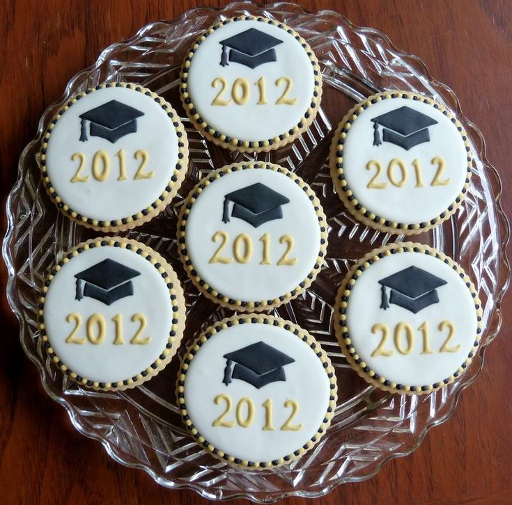 Graduation cookies by Kelley Hart Custom Cookies