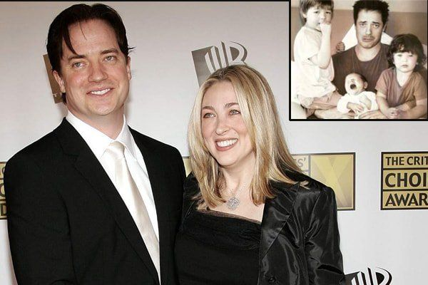 Afton Smith Brendan Fraser S Ex Wife With Kids Who Are They
