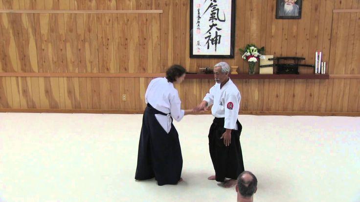 Aikido Video - Mitsugi Saotome Shihan - Aiki Principles in Aikido