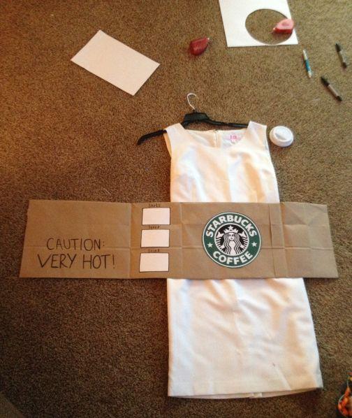 Starbucks Costume