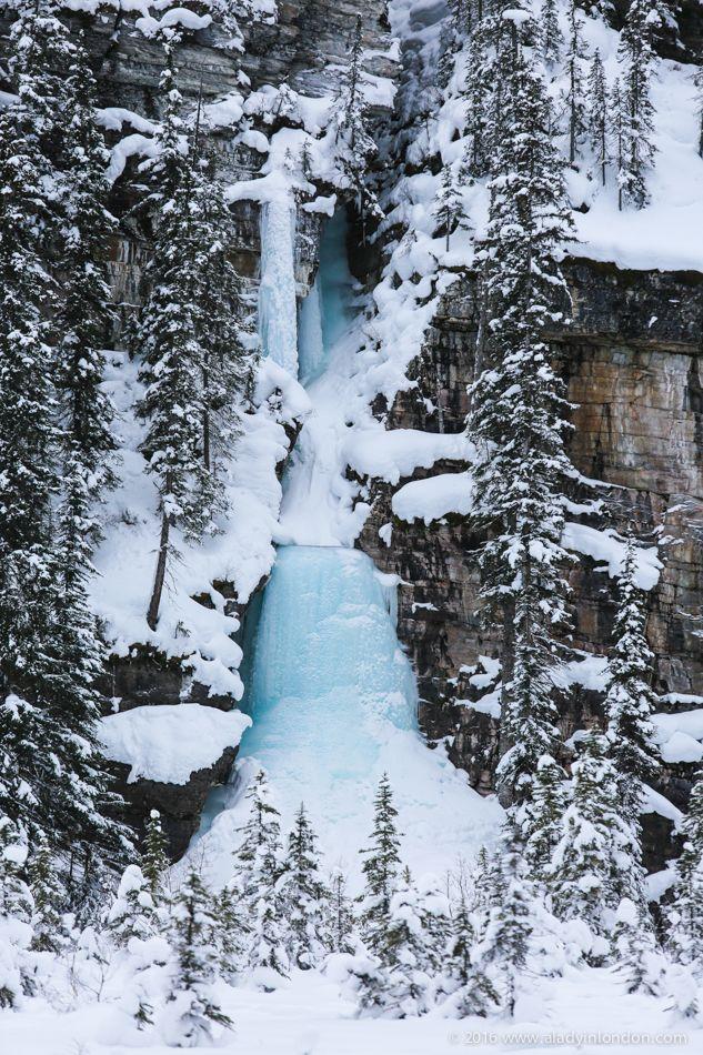 Frozen Waterfall, Lake Louise