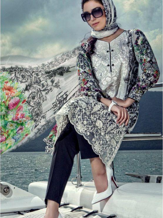 Maria B #LawnCollection Unstitched 3 Piece Suit D-1604-A #SayNoToReplicas #PromoteOriginalsAndBeProud