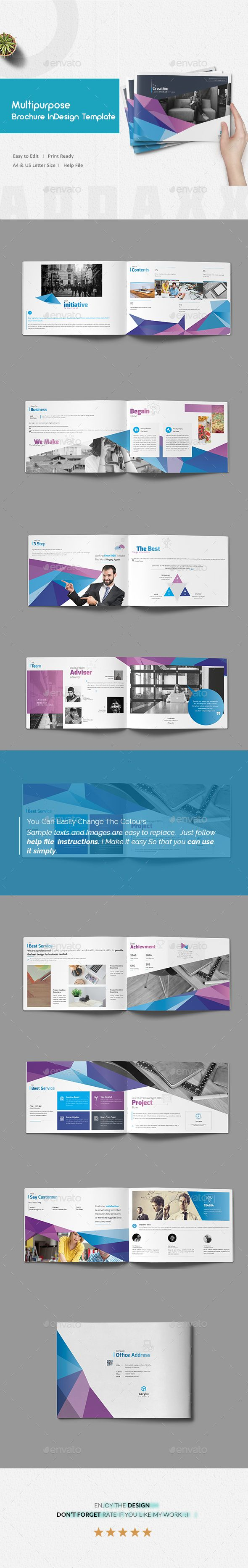 best 25+ indesign templates ideas on pinterest | portfolio layout, Powerpoint templates