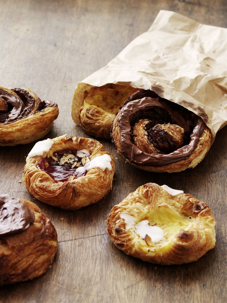 Danish wienerbrød, a Danish pastry, sometimes abbreviated Danish especially in the USA, is a viennoiserie pastry, of Viennese origin, which has become a specialty of Denmark and neighboring Scandinavian countries.