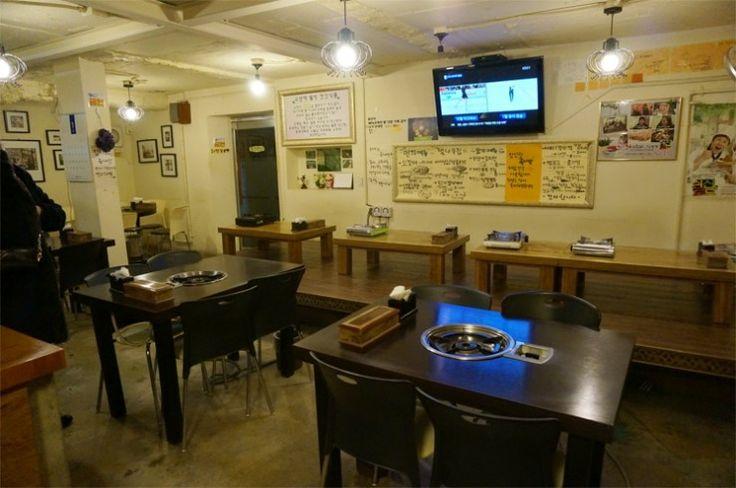 Sinchon - 오갈비가 맛있기로 소문난 '벚나무집'