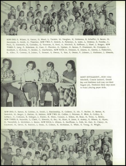 1958 Oroville High School Yearbook via Classmates.com