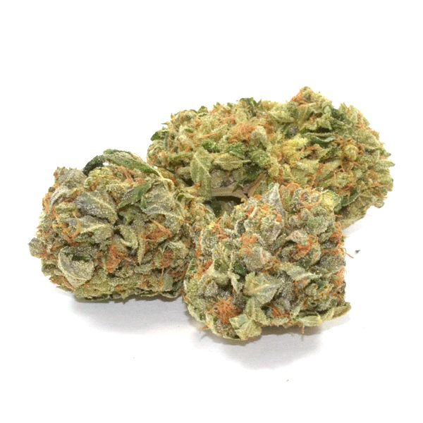 "Platinum Bubba Kush is a ""platinum"" level indica-dominant strain for those who are looking for strong medicine. Best for strong body relaxation, pain relief, sleepiness and appetite stimulation."