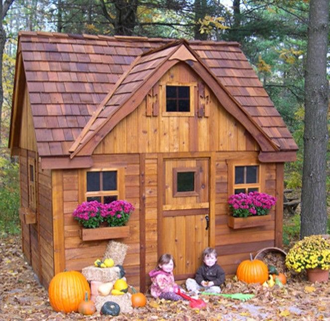 Outdoor Playhouse sets