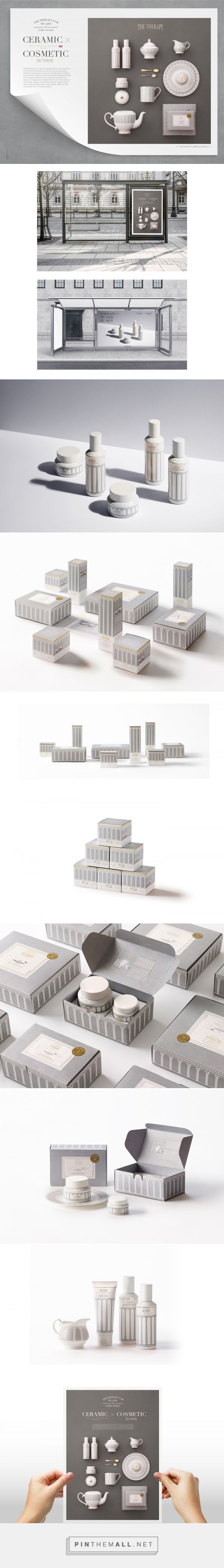 Cosmetic X Ceramic packaging design by THEFACESHOP - http://www.packagingoftheworld.com/2017/05/cosmetic-x-ceramic-therapy-william.html