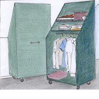 1000 ideas about m bel f r dachschr gen on pinterest einbauschrank selber bauen closet built. Black Bedroom Furniture Sets. Home Design Ideas