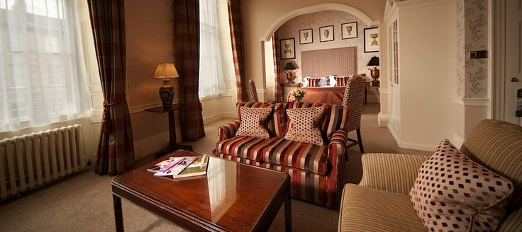 The luxury 5 Star Howard Hotel in Edinburgh Scotland. Will be going in the near future. I have stayed in this room