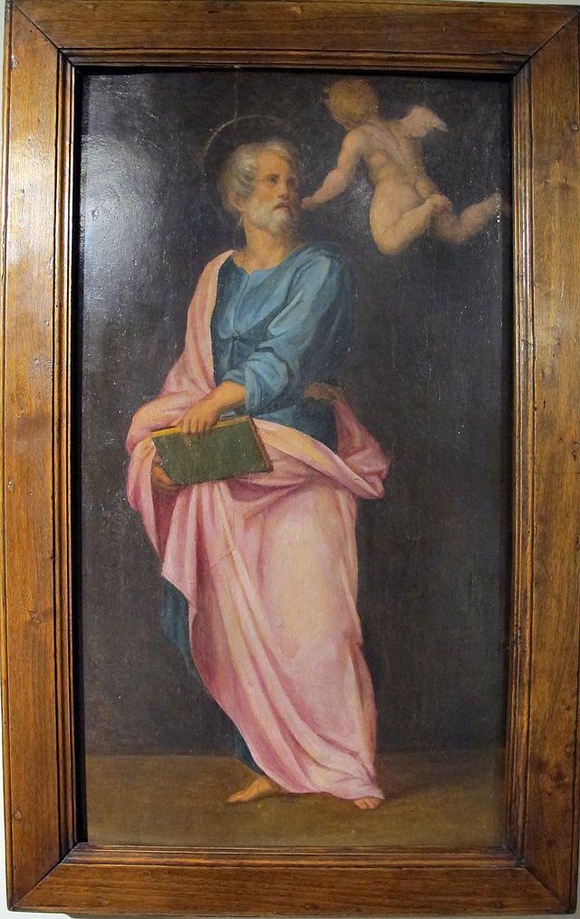 Pontormo, s. matteo, 1514 ca. - Category:Carro di San Giovanni Battista - Wikimedia Commons
