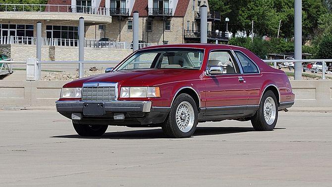 1991 Lincoln Mark Vii Mecum Auctions Classic Cars