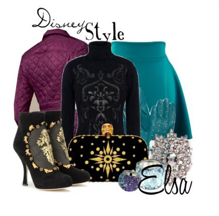 Omg i love this elsa at the coronation outfit! i have to try it cuz I'm that type of person!!!