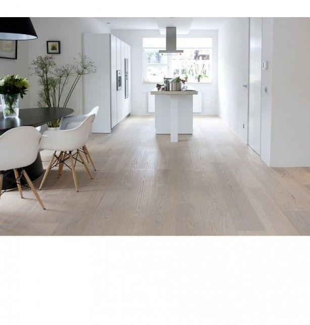 houten lichte vloer