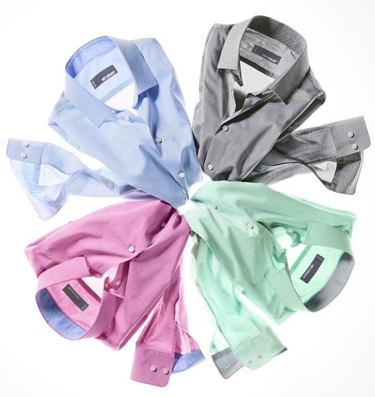 GELATO-HEMDEN. #shirt #men Ohne Sakko besonders gut: Den sogenannten Baumwoll- #Chambray erkennen Sie am strukturierten Stoff mit unterschiedlichen Kett- und Schussfäden. Kräftige Eiscreme-Farben gemischt mit Weiß wirken sehr #sommerlich und passen gut zum ohnehin eher leichten Charakter des dezent schimmernden Stoffes. Modisch kleiner #Kentkragen, vornehmer Kontrast im Kragen und auf der Innenseite der abgerundeten, zweifach verstellbaren Manschette. www.mey-edlich.de