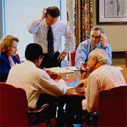 Деловое совещание является одной из обязанностей руководителя. Небольшая шпаргалка для тех, кому предстоит проводить деловое совещание.