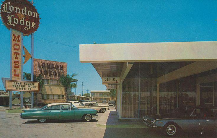 London Lodge Motel - New Orleans, Louisiana------Now used as a welfare motel