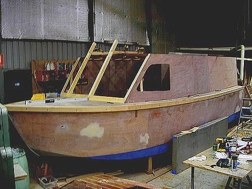 How to build a wooden sneak boat