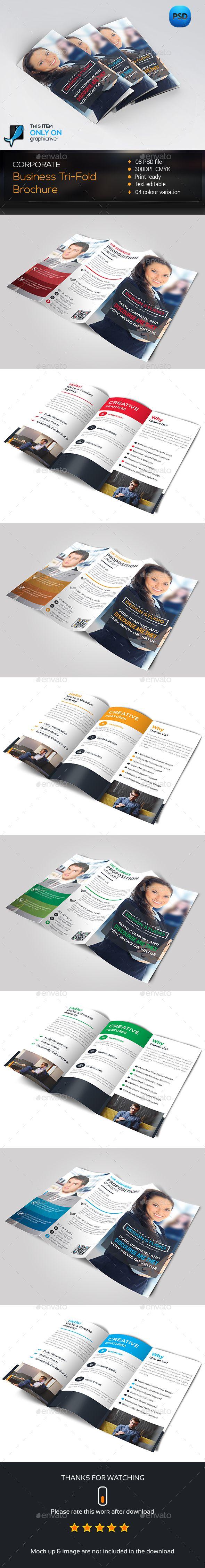 Trifold Brochure Template PSD #design Download: http://graphicriver.net/item/trifold-brochure/14237114?ref=ksioks