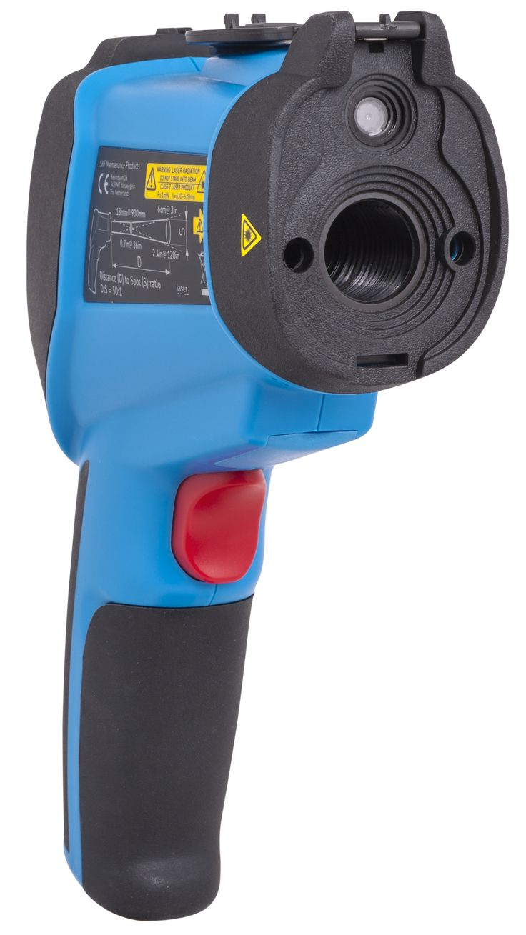 The SKF TKTL 40 is a portable, lightweight multi-functional instrument for measuring temperatures at a distance in a safe manner. This instrument can boast with various features and can take pictures and videos, showing the temperature measurements.