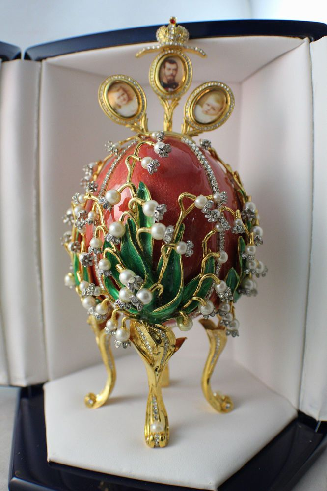 Faberge Imperial Lilies Of The Valley Egg Neiman Marcus