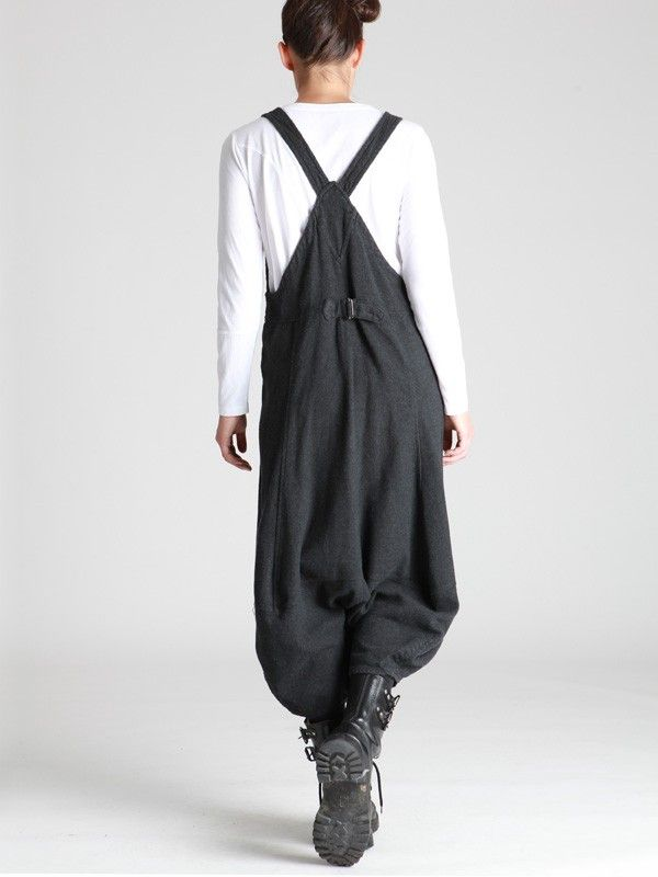 OVERALLS WOVEN WITH THICK COTTON