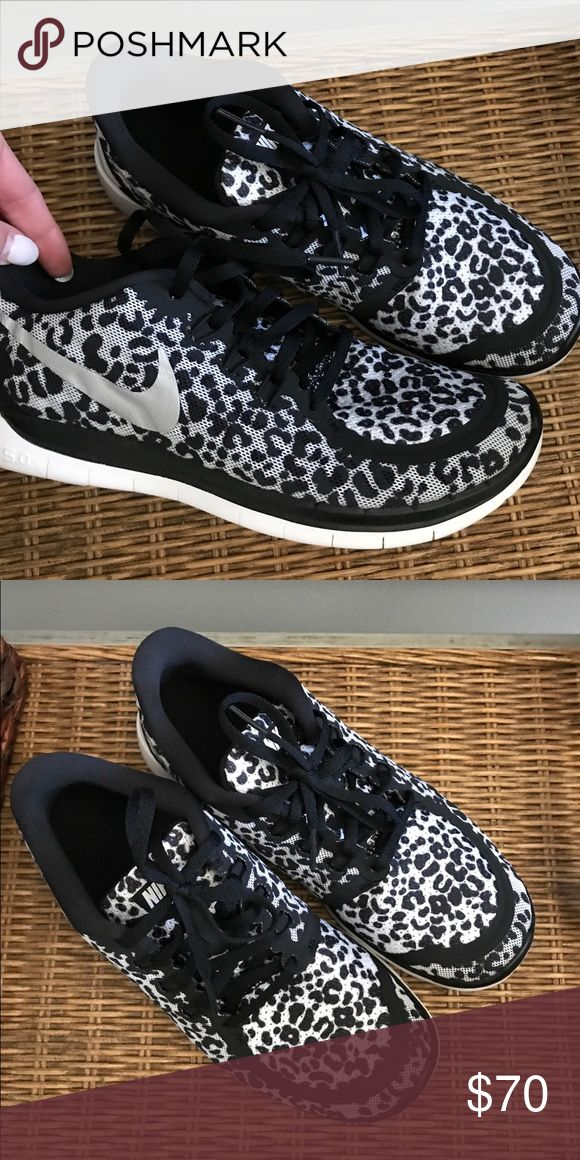 BRAND NEW Leopard Nike Free Kids size 6.5 - fits women's 7/7.5 Nike Shoes Athletic Shoes