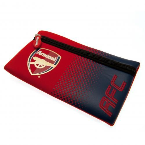 Great looking Arsenal pencil case in club colours and featuring the iconic club crest on the front. FREE DELIVERY on all of our gifts