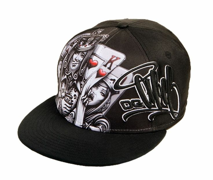 OG Abel Kingpin Snapback Hat Black Mens Clothing Tattoo