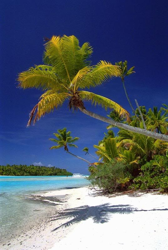 One Foot Island, Aitutaki, Cook Island  This is where Survivor Cook Islands was filmed...i will never feel sorry for them...ever....