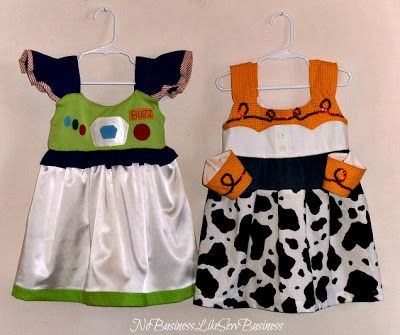 No Business Like Sew Business: Toy Story Costumes