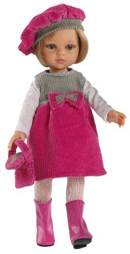 Paola Reina Carla Doll Outfit (Pink and Grey) Paola Reina http://www.amazon.co.uk/dp/B00JFP2BWQ/ref=cm_sw_r_pi_dp_oSKxub1B9N1N9