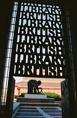 The front of the British Library (have also been inside), London