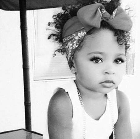 Could I ever hope for a child this pretty?