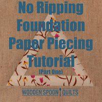 wooden spoon quilts: Tutorials