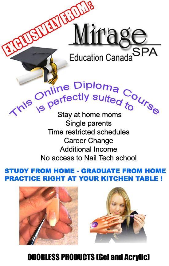 Certified Diploma Artificial Nail Technician Course Gel Acrylic Nail Art   onlinenailtechniciancourse.com School/Training/Courses   Nail acrylic nail courses