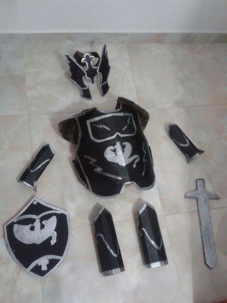 Resultado de imagen de armadura medieval partes niños