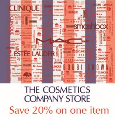 Rare Cosmetics Company Outlet (CCO) 20% off Coupon Valid Now through 2/15
