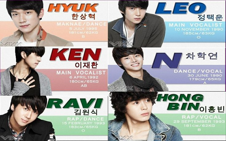 VIXX profile omg n's b-day is only 4 days after mine :):):) i'm dying over here, @fashiongirl5602